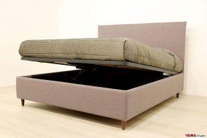 Il letto imbottito più richiesto tra i letti matrimoniali con contenitore