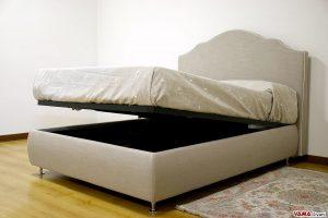 Il modello più acquistato tra i letti in tessuto matrimoniali