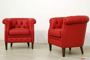 Poltrone classiche da camera da letto o sala d'attesa