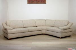 Divani su misura vendita divani on line in pelle e tessuto for Divani angolari grandi