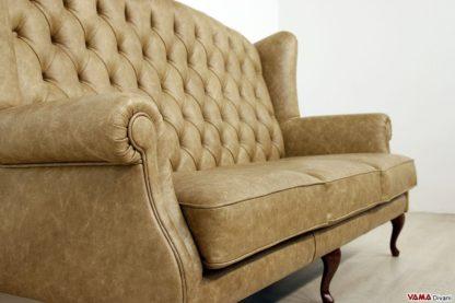 Bracciolo e seduta del divano bergere