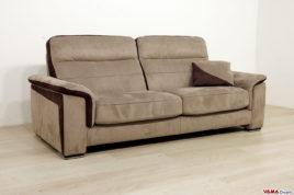 Divani su misura vendita divani on line in pelle e tessuto - Divano seduta scorrevole ...