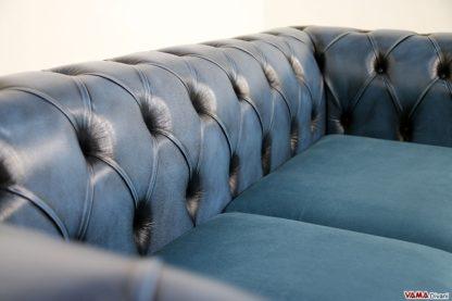 schienale divano chester moderno