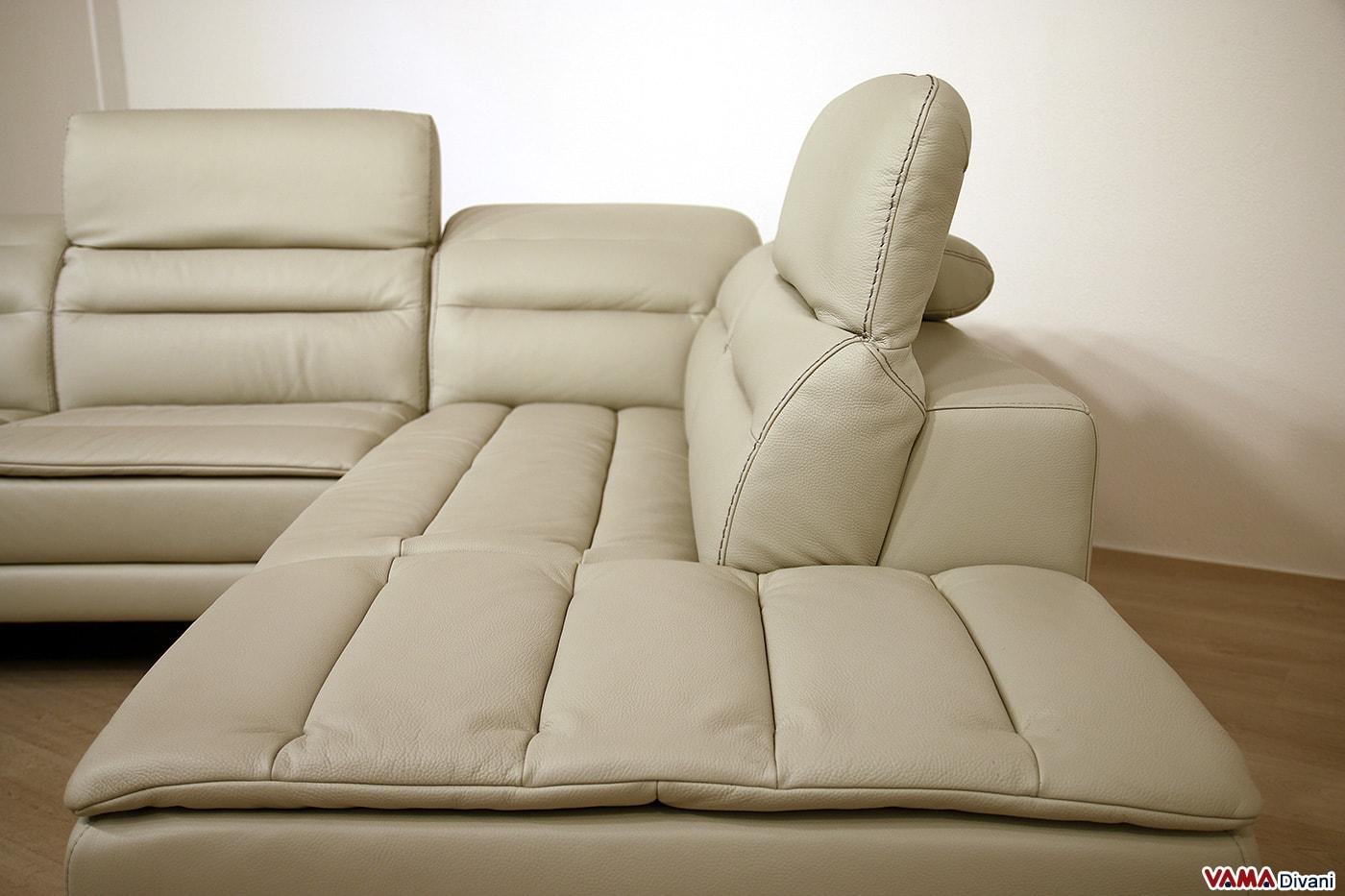 Schienale divano con poggiatesta relax manuali