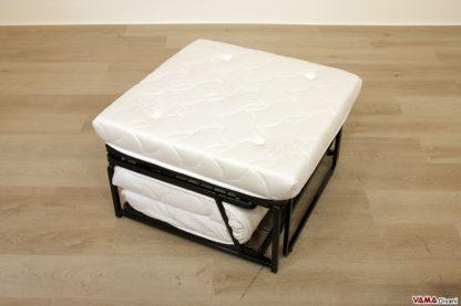 Meccanismo pouf letto con materasso