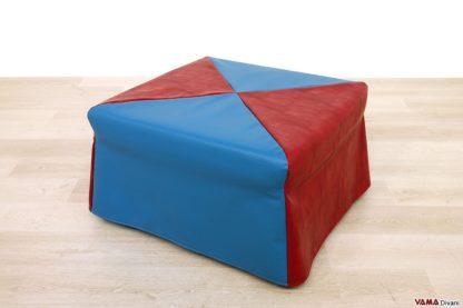 Pouf letto singolo ecopelle