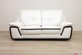 Divano moderno due posti con schienale alto