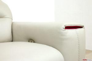 Pulsantiera divano relax sul bracciolo