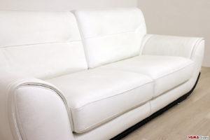 Seduta divani bianchi in pelle in offerta