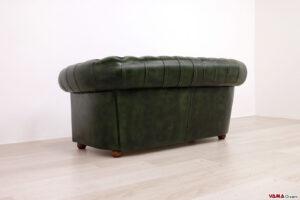 Dietro divano Chester 2 posti verde inglese anticato