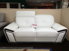 divano relax con poggiatesta in pelle bianca (1)