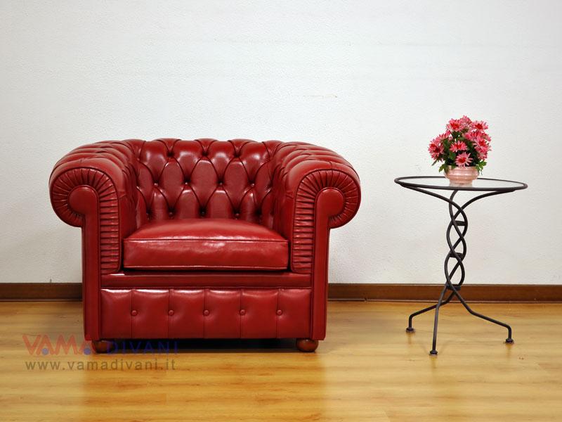 Poltrona ufficio pelle rossa scooby idea creativa della for Revolico muebles